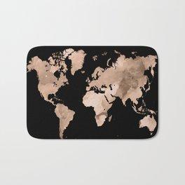 Design 97 world map Bath Mat
