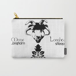 Long Horn Sheep Carry-All Pouch
