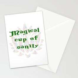 Magical Cup of Sanity Stationery Cards
