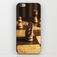 chess iPhone & iPod Skins featuring Chess by Janelle