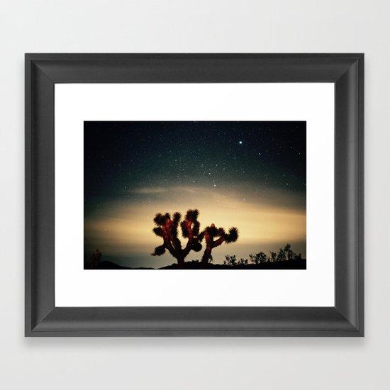 Midnight Hour Framed Art Print