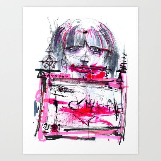 Fuck Machine Art Print