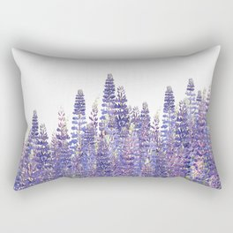 Just Lupine Rectangular Pillow