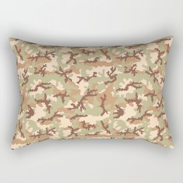 Desert camouflage Rectangular Pillow
