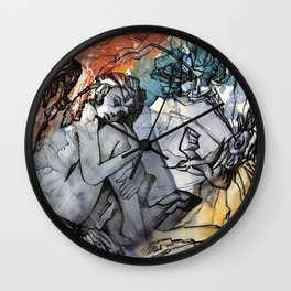 """""""Angel"""" Lithography Wall Clock"""