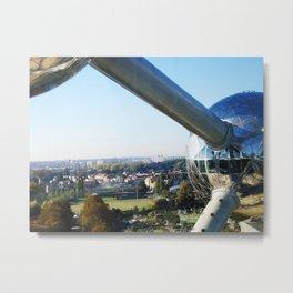 Belgium - Atomium Metal Print