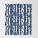 Shibori Stripes Indigo Blue by followmeinstead