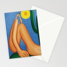 Abaporu - Tarsila do Amaral - Exhibition Post Stationery Cards