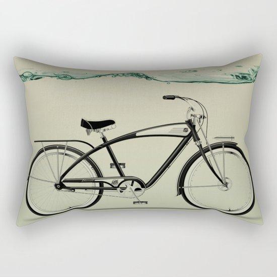 wet wheels Rectangular Pillow