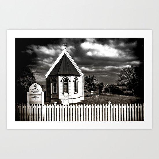 The Tiny Church Art Print