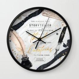 Storyteller Wall Clock