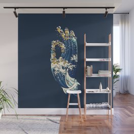 Jnana Mudra of Pug Wall Mural