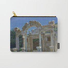Ephesus. Ruins. Temple of Hadrian Carry-All Pouch