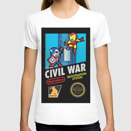 8bit CIVIL WAR T-shirt
