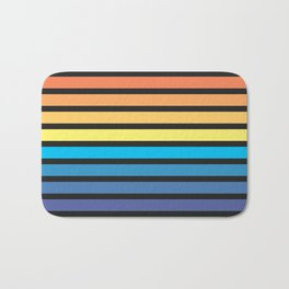 Stripe Sunset Bath Mat