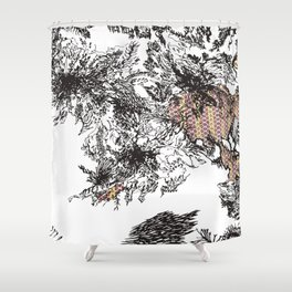 Mission Shower Curtain