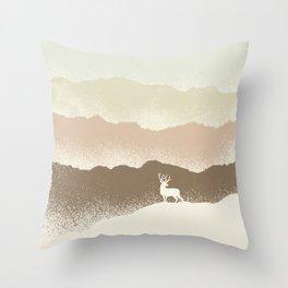 Quietude (II) Throw Pillow