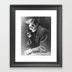 CONSCRIPT Framed Art Print