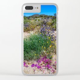 Painted Desert 7497 - Joshua_Tree National Park Clear iPhone Case