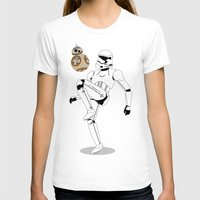 soccer T-shirts featuring Droid Soccer by Evan