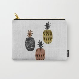 Scandi Pineapples Carry-All Pouch