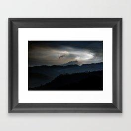 Vulcan Etna Framed Art Print