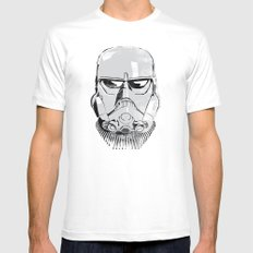 Ralph McQuarrie concept Stormrooper Mens Fitted Tee White MEDIUM