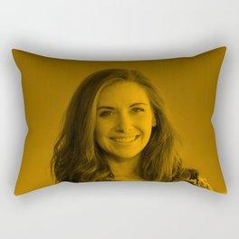 Alison Brie - Celebrity Rectangular Pillow