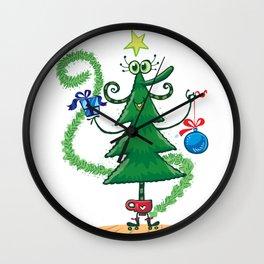 Christmas tree decoration Wall Clock