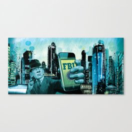 FBI Canvas Print