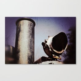 Steaming Canvas Print