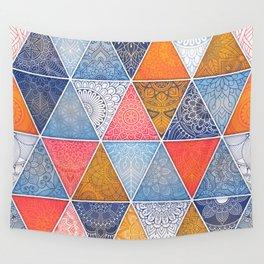 Pattern Mandala Losange Wall Tapestry