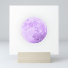 LAVENDER MOON Mini Art Print