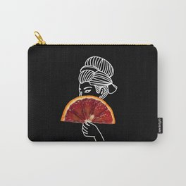 Blood Orange Geisha Carry-All Pouch
