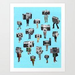 paparazzi Art Print