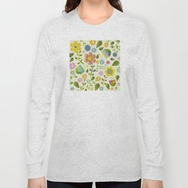 Petty Floral Pattern 2 Long Sleeve T-shirt