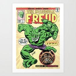 The Incredible Freud Art Print