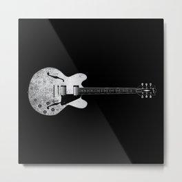 Jazz Guitar Metal Print