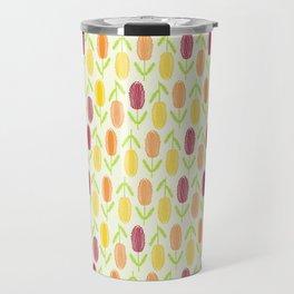 Bright Banksia Travel Mug