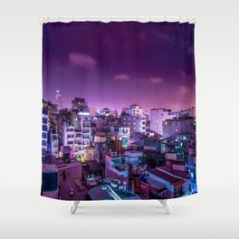 Oh Chi Minh City Shower Curtain