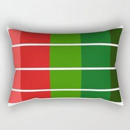 Christmas color bar Rectangular Pillow