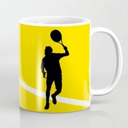 TENNIS Forehand Lines Coffee Mug