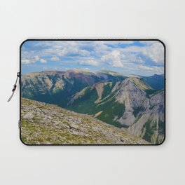 Views from the top of Sulphur Skyline in Jasper National Park, Canada Laptop Sleeve
