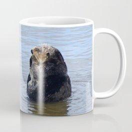 otter and gull Coffee Mug