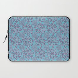 Neo Memphis Coordinate Blue Pink Laptop Sleeve