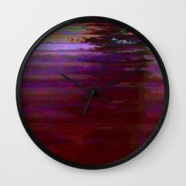 000000 (Dead City Glitch) Wall Clock