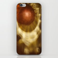 Abstract light reflections iPhone Skin