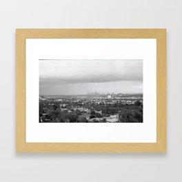 Old Time L.A. Framed Art Print