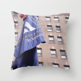 We Remember Throw Pillow
