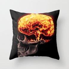 Mind Blown Throw Pillow
